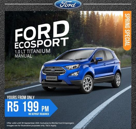 New Ford EcoSport Special